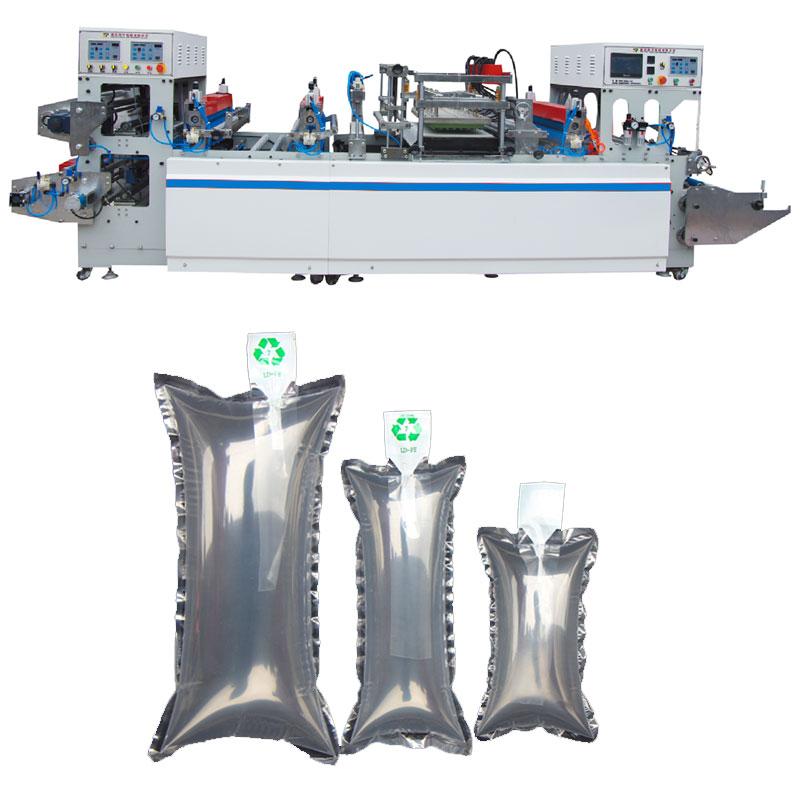 Air pillow bag making machine